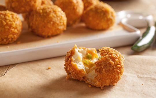 Crunchy Jalapeño Potato Poppers Snack