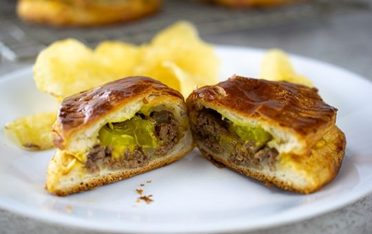 Quick Night Meal Cheeseburger Turnovers