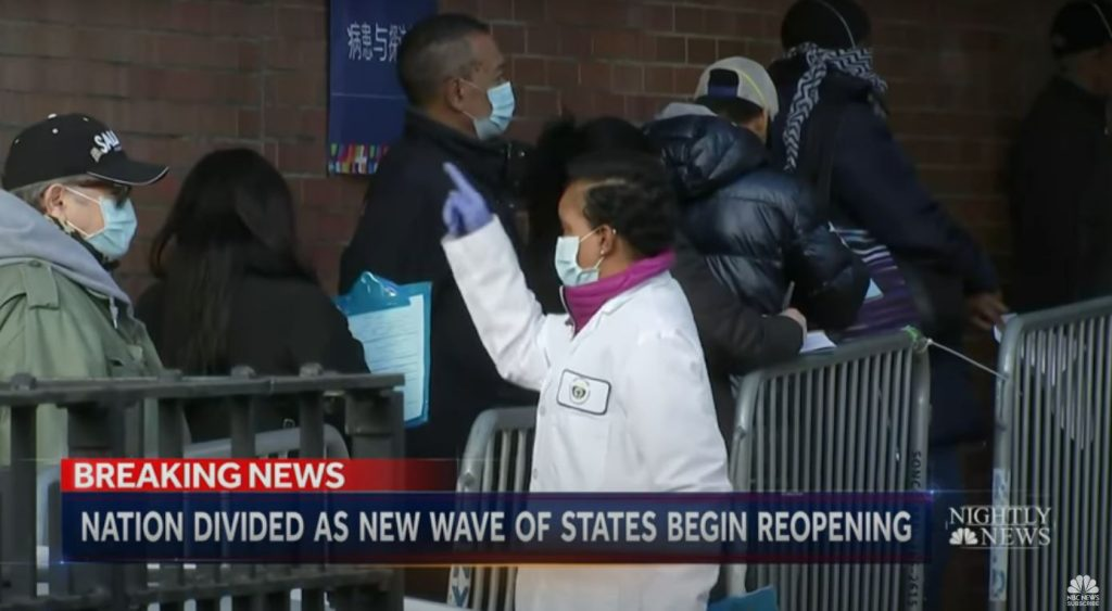 Nation Divided As New Wave Of States Begin Reopening