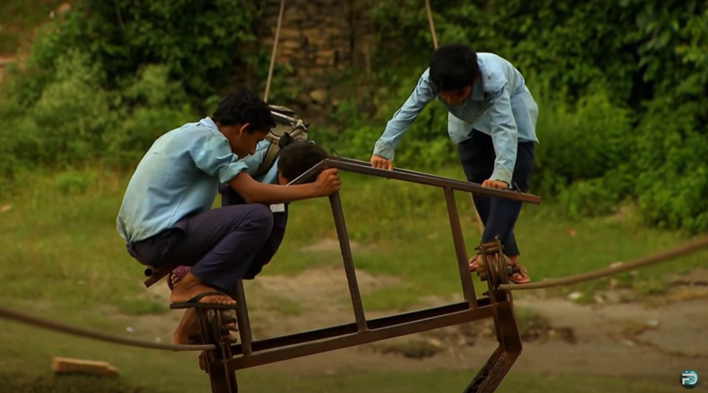 Most Dangerous Ways To School NEPAL Free Documentary