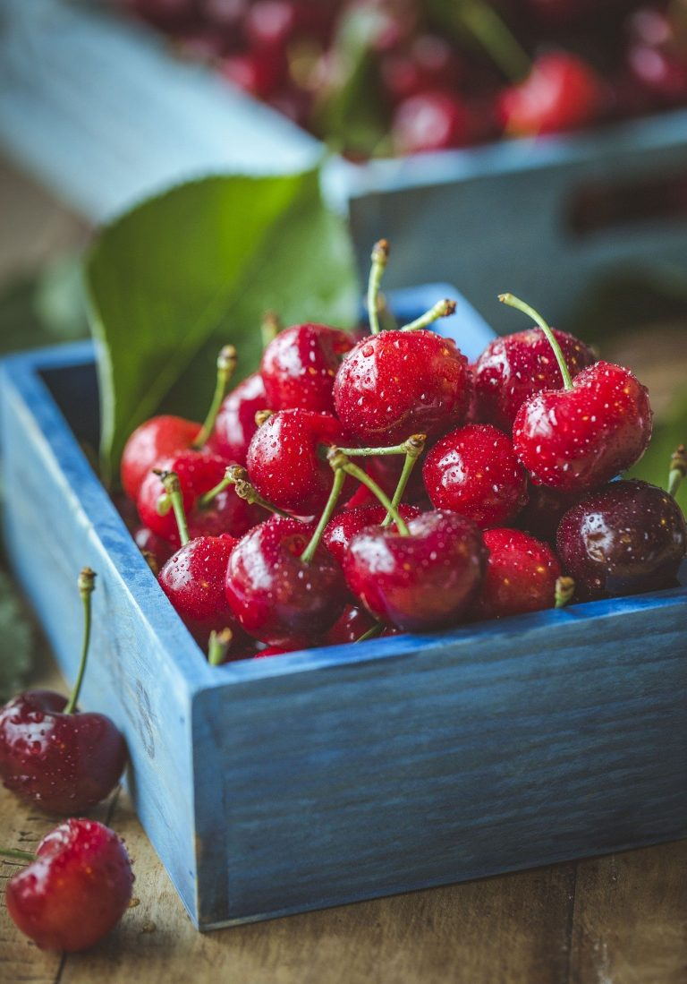 4 reasons to reach for fresh cherries when coping with stress