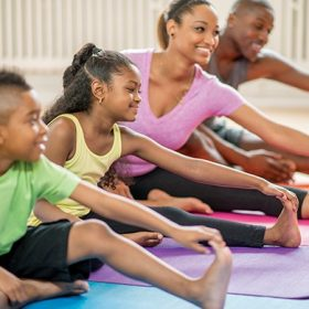 Get Your Family Moving at Home