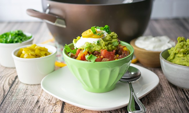 Chipotle Veggie Chili for the Chilly Days