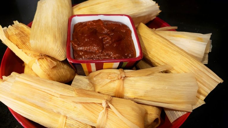 THE BEST AUTHENTIC MEXICAN HOMEMADE RED BEEF TAMALES Recipe