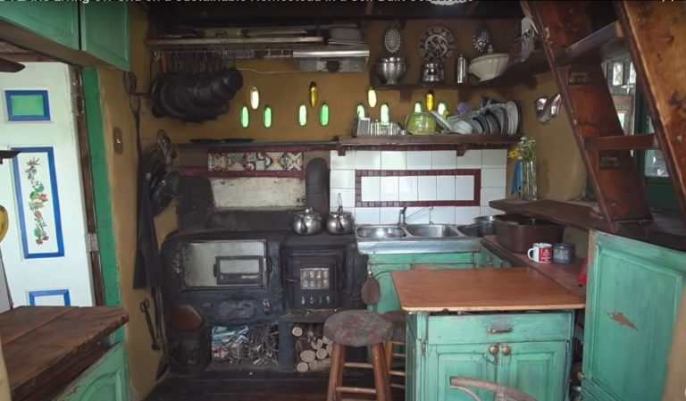 Living Off-Grid on a Sustainable Homestead Self-Built