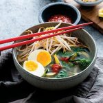 Vegetarian Ramen Zoodle Bowls