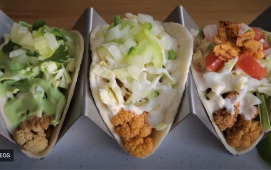 Easy Cauliflower Street Tacos