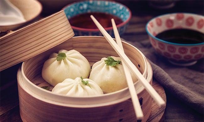Honey Pork Dumplings