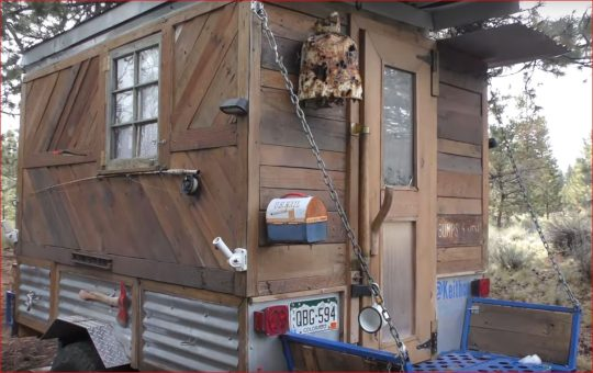Handyman Builds Off-Road Tiny Home Camper