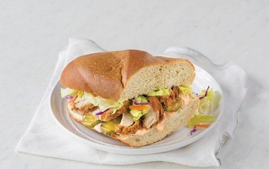 Spicy Chicken Sandwiches with Nashville-Style Dressing