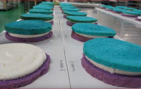 Amazing Cake Factory Korean Food