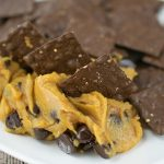 Peanut Butter Chocolate Chickpea Cookie Dip