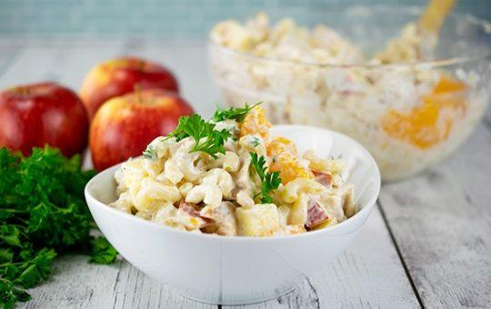 Apple and Mandarin Macaroni Salad